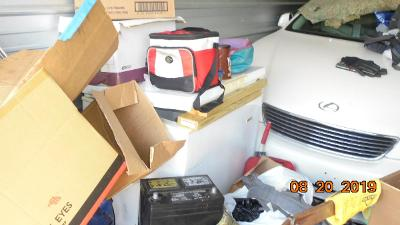 Buford  Self Storage Auction #107633 - Image 4 boxes / totes,heavy equipment,shelves,tools