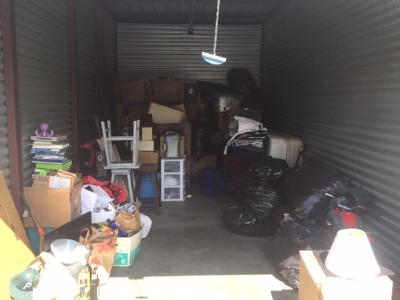 Antioch  Self Storage Auction #109483 - Image 1 boxes / totes,clothing,furniture,motorcycle