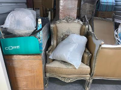 Naples  Self Storage Auction #123743 - Image 6 boxes / totes,furniture
