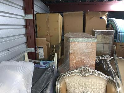 Naples  Self Storage Auction #123743 - Image 5 boxes / totes,furniture