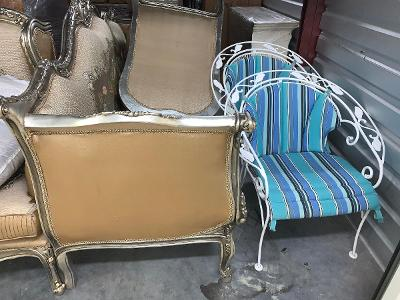 Naples  Self Storage Auction #123743 - Image 3 boxes / totes,furniture