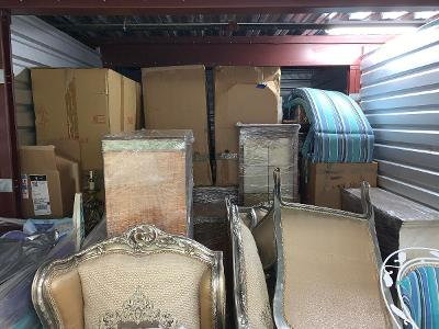 Naples  Self Storage Auction #123743 - Image 2 boxes / totes,furniture