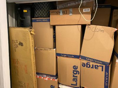 Humble  Self Storage Auction #158205 - Image 6 boxes / totes,home goods