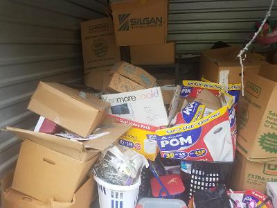 West Memphis  Self Storage Auction #162728 - Image 5 boxes / totes,home goods,sports equipment,toys / baby items