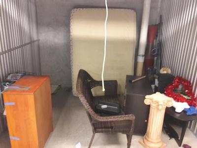 Plantation  Self Storage Auction #65224 - Image 2 electronics,furniture,mattress