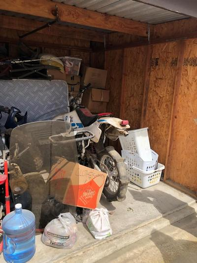 Hanford  Self Storage Auction #84844 - Image 2 boxes,Holiday Decor,motorcycle,sports & outdoors
