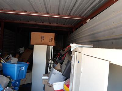 Houston  Self Storage Auction #90598 - Image 4 appliances,boxes,cabinet,furniture,office equipment,toys, baby items, games