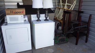 Wyoming  Self Storage Auction #91107 - Image 3 appliances,furniture,sports & outdoors