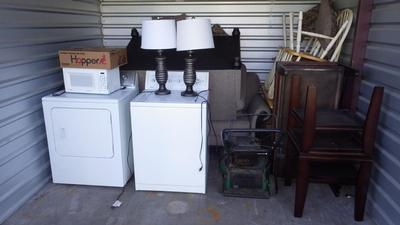 Wyoming  Self Storage Auction #91107 - Image 1 appliances,furniture,sports & outdoors