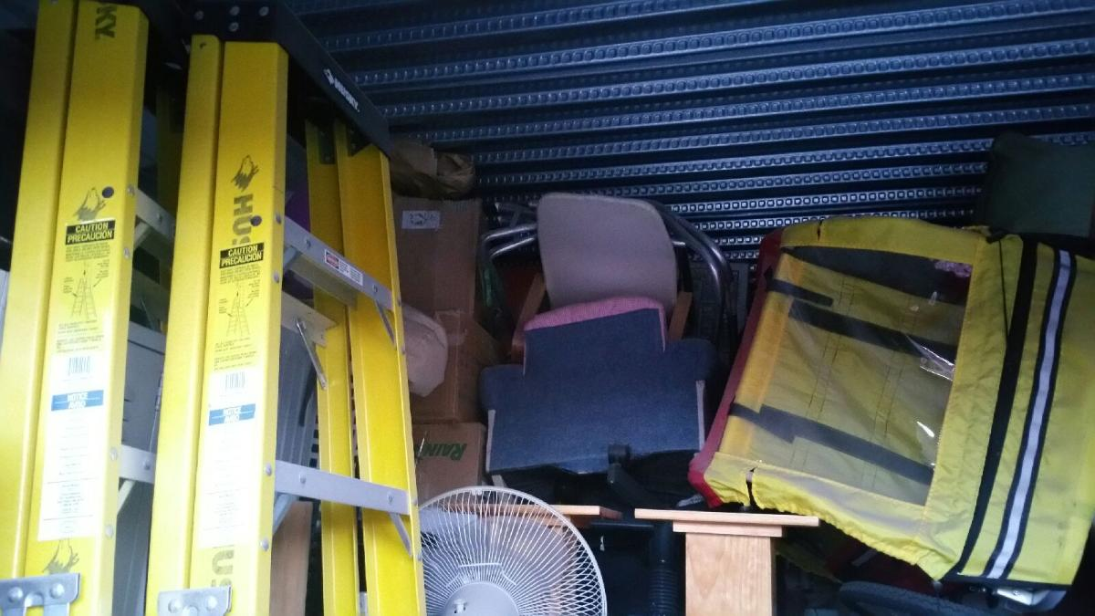 Self Storage Auction #104193 - Image 4 bicycle,boxes / totes,outdoor goods,tools