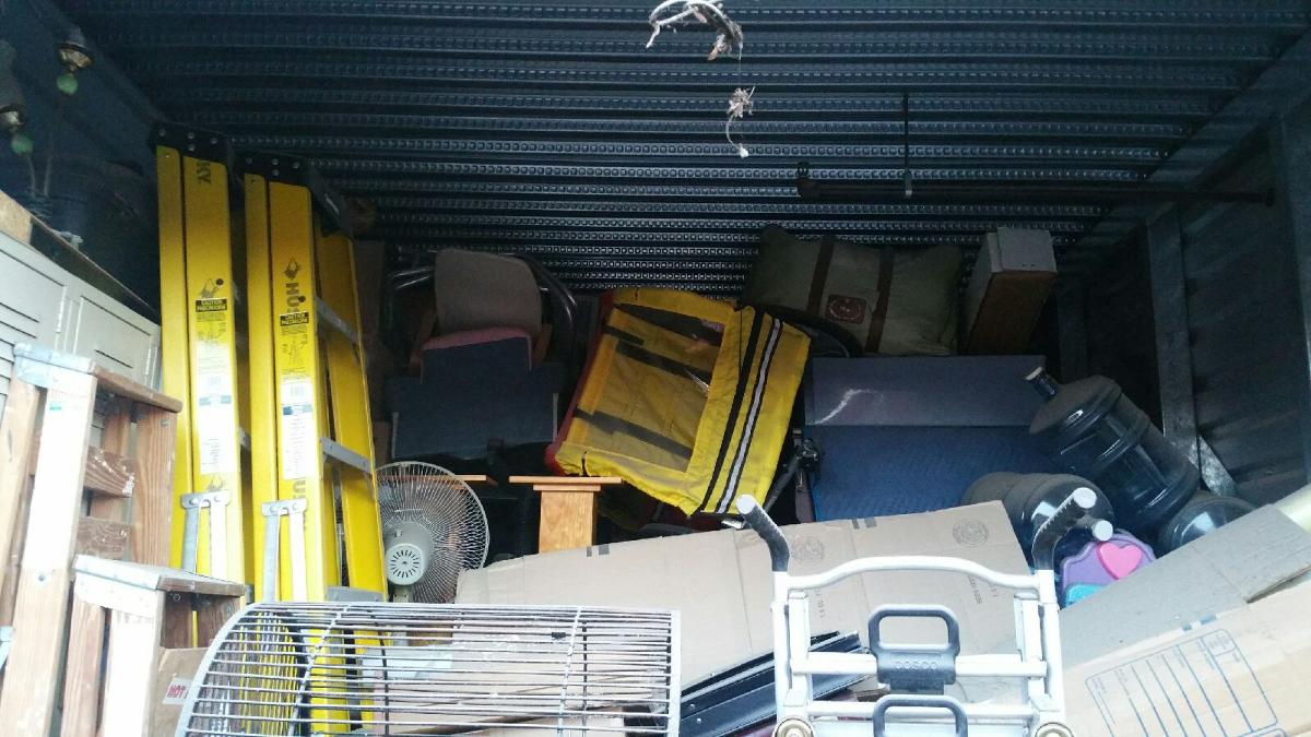 Self Storage Auction #104193 - Image 5 bicycle,boxes / totes,outdoor goods,tools