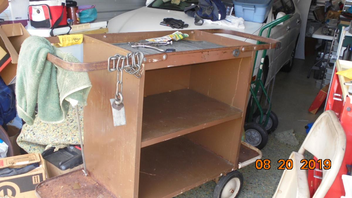 Self Storage Auction #107633 - Image 5 boxes / totes,heavy equipment,shelves,tools
