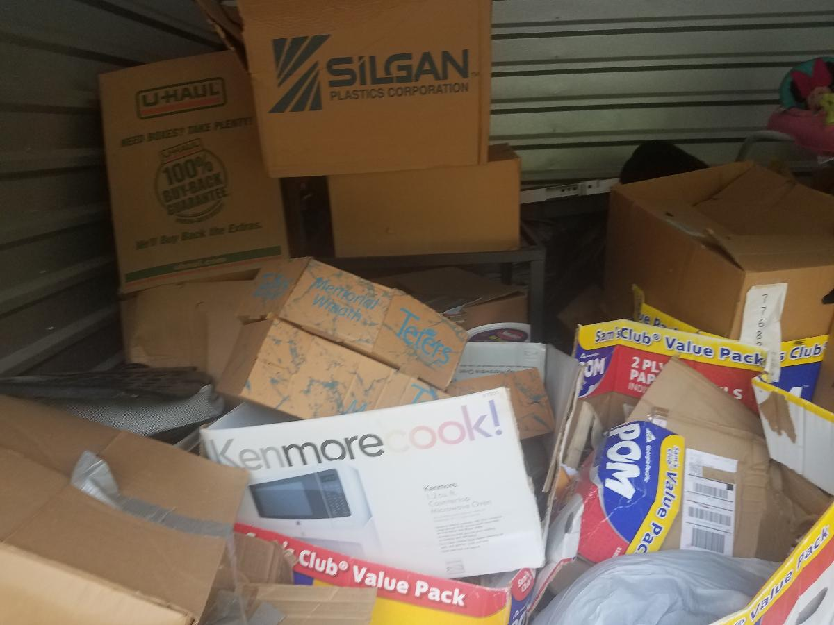 Self Storage Auction #162728 - Image 4 boxes / totes,home goods,sports equipment,toys / baby items