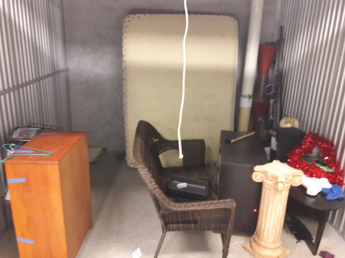Self Storage Auction #65224 - Image 2 electronics,furniture,mattress
