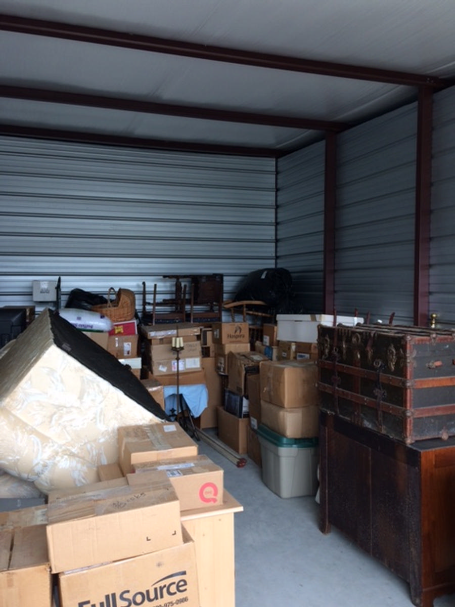 Self Storage Auction #82575 - Image 2 antiques,boxes,furniture,shelves