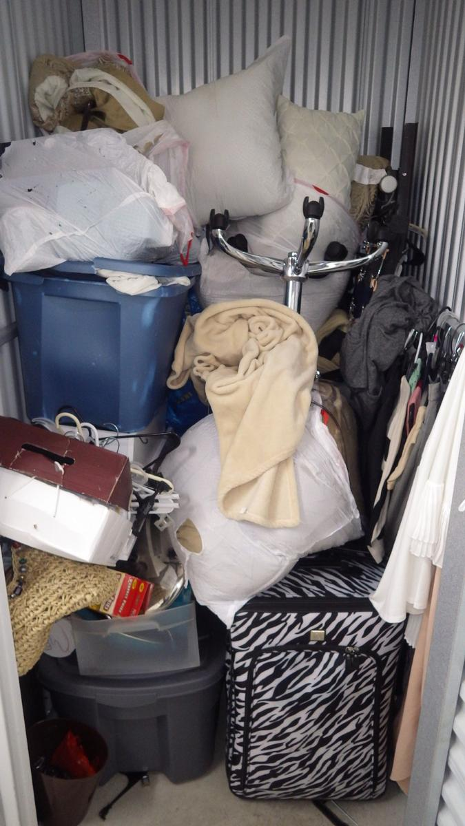 Self Storage Auction #90575 - Image 3 bedding,clothing,office equipment